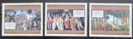 Poštovní známky Guinea 2012 Umìní, Sandro Botticelli Mi# 9665-67 Kat 16€