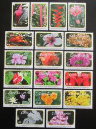Poštovní známky Cookovy ostrovy 2010 Kvìtiny TOP SET Mi# 1618-35 Kat 105€