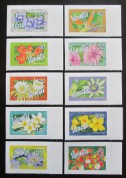 Poštovní známky Vanuatu 2006 Kvìtiny TOP SET Mi# 1284-93 Kat 32€