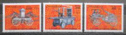 Poštovní známky Somálsko 2001 Hasièská technika TOP SET Mi# 879-81 Kat 17€