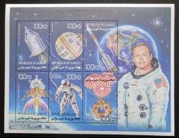 Poštovní známky Džibutsko 2000 Prùzkum vesmíru Mi# 780-85 Kat 11€
