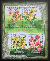 Poštovní známky SAR 2012 Orchideje Mi# 3617-20 Kat 14€