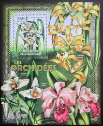 Poštovní známka SAR 2012 Orchideje Mi# Block 939 Kat 12€
