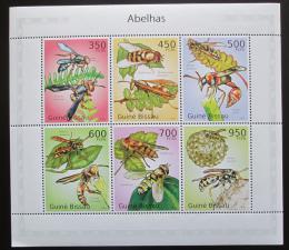 Poštovní známky Guinea-Bissau 2010 Vèely Mi# 5057-62 Kat 14€