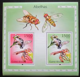 Poštovní známky Guinea-Bissau 2010 Vèely Mi# Block 871 Kat 12€