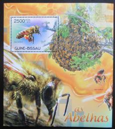 Poštovní známka Guinea-Bissau 2012 Vèely Mi# Block 1059 Kat 10€