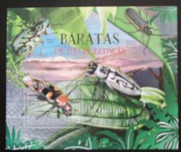 Poštovní známka Mosambik 2012 Brouci Mi# Block 628 Kat 10€
