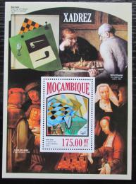 Poštovní známka Mosambik 2013 Šachy a umìní Mi# Block 821 Kat 10€