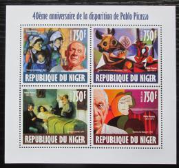 Poštovní známky Niger 2013 Umìní, Pablo Picasso Mi# 2476-79 Kat 12€