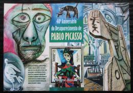 Poštovní známka Guinea-Bissau 2013 Umìní, Pablo Picasso Mi# Block 1186 Kat 12€
