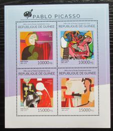 Poštovní známky Guinea 2014 Umìní, Pablo Picasso Mi# 10772-75 Kat 20€