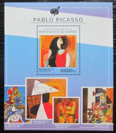 Poštovní známka Guinea 2014 Umìní, Pablo Picasso Mi# Block 2450 Kat 16€