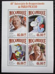 Poštovní známky Mosambik 2013 Umìní, Pablo Picasso Mi# 6872-75 Kat 11€