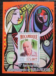 Poštovní známka Mosambik 2013 Umìní, Pablo Picasso Mi# Block 814 Kat 10€