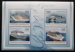Poštovní známky SAR 2012 Výletní lodì Mi# 3802-05 Kat 14€