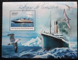 Poštovní známka SAR 2012 Výletní lodì Mi# Block 975 Kat 12€