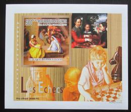 Poštovní známka Guinea 2010 Dìti a šachy DELUXE neperf. Mi# 7460 B Block