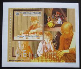 Poštovní známka Guinea 2010 Dìti a šachy DELUXE neperf. Mi# 7464 B Block