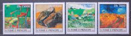 Poštovní známky Svatý Tomáš 2004 Umìní, Vincent van Gogh Mi# 2535-38 Kat 12€