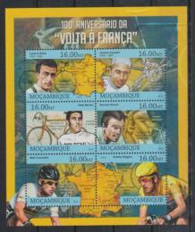Poštovní známky Mosambik 2013 Tour de France, cyklistika Mi# 6448-53 Kat 10€