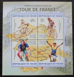Poštovní známky Niger 2013 Tour de France, cyklistika Mi# 2207-10 Kat 12€