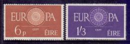 Poštovní známky Irsko 1960 Evropa CEPT Mi# 146-47 Kat 15€