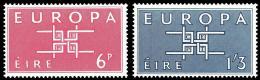 Poštovní známky Irsko 1963 Evropa CEPT Mi# 159-60 Kat 5€