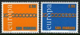 Poštovní známky San Marino 1971 Evropa CEPT Mi# 975-76