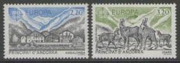 Poštovní známky Andorra Fr. 1986 Evropa CEPT Mi# 369-70 Kat 8€