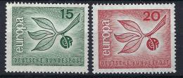 Poštovní známky Nìmecko 1965 Evropa CEPT Mi# 483-84