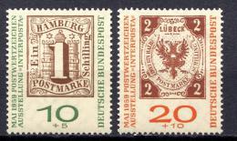 Poštovní známky Nìmecko 1959 Výstava INTERPOSTA Mi# 310-11