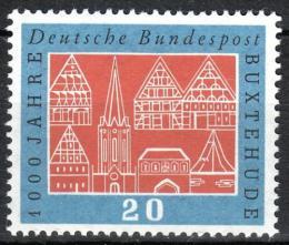 Poštovní známka Nìmecko 1959 Buxtehude milénium Mi# 312