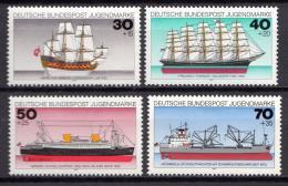 Poštovní známky Nìmecko 1977 Lodì Mi# 929-32