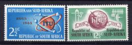 Poštovní známky JAR 1965 ITU, 100. výroèí Mi# 344-45 Kat 3.30€