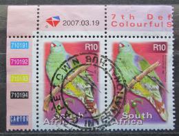 Poštovní známky JAR 2000 Holub africký pár Mi# 1309 Kat 6.80€