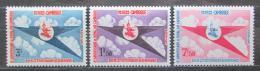 Poštovní známky Kambodža 1964 Královské aerolinie, 8. výroèí Mi# 178-80