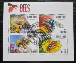 Poštovní známky Sierra Leone 2015 Vèely Mi# 6327-30 Kat 10€