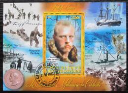 Poštovní známka Pobøeží Slonoviny 2012 Fridtjof Nansen, výzkumník Mi# N/N