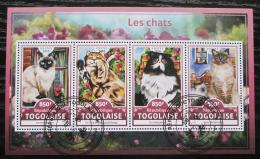 Poštovní známky Togo 2016 Koèky Mi# 7854-57 Kat 13€