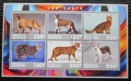 Poštovní známky Burkina Faso 2017 Koèky Mi# N/N