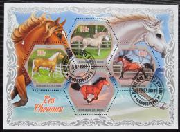 Poštovní známky Pobøeží Slonoviny 2018 Konì Mi# N/N