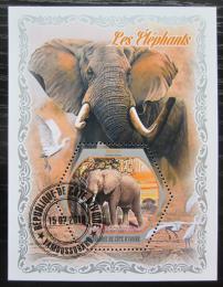 Poštovní známka Pobøeží Slonoviny 2018 Sloni Mi# N/N
