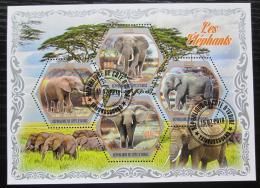Poštovní známky Pobøeží Slonoviny 2018 Sloni Mi# N/N
