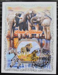 Poštovní známky Pobøeží Slonoviny 2018 Africká fauna Mi# N/N