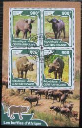 Poštovní známky SAR 2016 Buvol africký Mi# 5955-58 Kat 14€