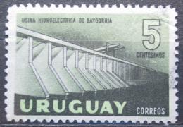 Poštovní známka Uruguay 1958 Vodní elektrárna v Baygorria Mi# 818
