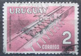 Poštovní známka Uruguay 1958 Pøehradní nádrž v Baygorria Mi# 821