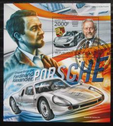 Poštovní známka Togo 2012 Automobily Porsche Mi# Block 734 Kat 8€