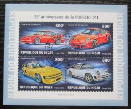 Poštovní známky Niger 2018 Porsche 911 Mi# N/N