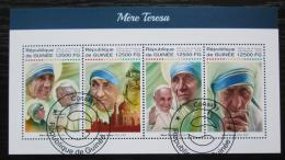 Poštovní známky Guinea 2018 Matka Tereza Mi# 13005-08 Kat 20€